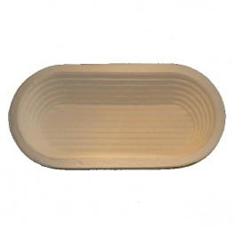 Jäsform 1 kg oval 29,5x14 räfflad