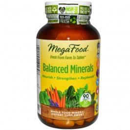 Balanced Minerals 90 tabletter MegaFood