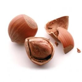 Hasselnötter med skal