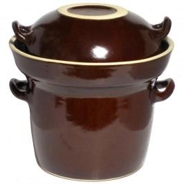 Syrningskruka KZ 2 liter Mörkbrun