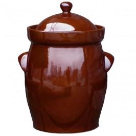 Syrningskruka ZCB Bullig 20 liter Rödbrun