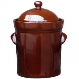 Syrningskruka ZCB Rak 15 liter Rödbrun