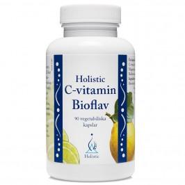 C-vitamin Bioflav 90 kapslar Holistic