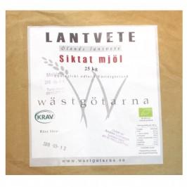 Lantvetemjöl Öland Siktat Krav 25 kg