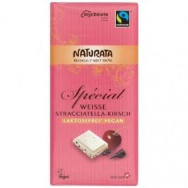 Choklad vit  stracciatella/körsbär