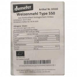 Vetemjöl Typ 550 Demeter