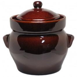 Syrningskruka ZCB 3 liter Rödbrun
