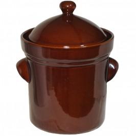 Syrningskruka ZCB 5 liter Rödbrun