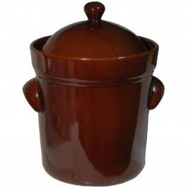 Syrningskruka ZCB Rak 10 liter Rödbrun