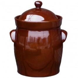 Syrningskruka ZCB Bullig 15 liter Rödbrun