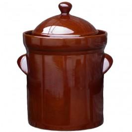 Syrningskruka ZCB Rak 25 liter Rödbrun